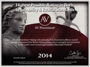 AV Preeminent Law Firm eatate planning